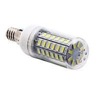 preiswerte -5W E14 LED Mais-Birnen T 56 Leds SMD 5730 Natürliches Weiß 450lm 6000-6500K AC 220-240V