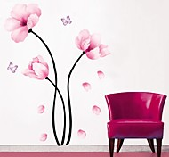 cheap -Florals Botanical Wall Stickers Plane Wall Stickers Decorative Wall Stickers, PVC Home Decoration Wall Decal Wall