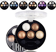 cheap -5 Colors UBUB Eyeshadow Palette Professional Baked 3in1 Matte&Glitter&Shimmer Metallic Color Eye Shadow Powder Cosmetic Palette