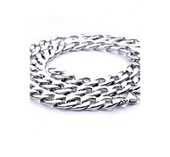 Z&X®  European Style 1.1cm Width Titanium Steel Men's Chain Necklace Christmas Gifts