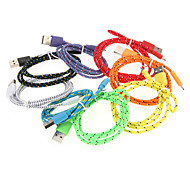 Micro USB Weaving Charger Cable Phone Cables & Adapters Cell Phone Universal Accessories