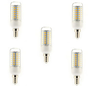 5W E14 G9 E26/E27 LED Corn Lights T 56 leds SMD 5730 Warm White Cold White 450lm 3000-3500K AC 220-240V