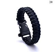 Недорогие -lureme® Paracord выживание побег свистеть браслет шнура