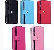 многофункциональный почтовый бумажник PU кожаный чехол с подставкой и слот для карт памяти для iPhone 6 (ассорти цветов)