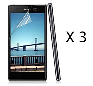 cheap -Screen Protector Sony for PET 3 pcs Ultra Thin