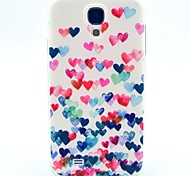 Love Dancing Pattern TPU Soft Case for S4 I9500 Galaxy S Series Cases / Covers