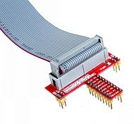 Недорогие -26 контактный кабель, указанные данные и т расширение GPIO доска аксессуар для Raspberry Pi Ь +