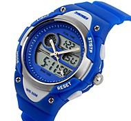 SKMEI® Kid's Japanese Quartz Analog-Digital Sports Strap Watch Dual Time Cool Watches Unique Watches Fashion Watch