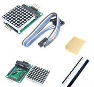 abordables -MAX7219 point rouge module de matrice et accessoires pour Arduino