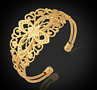 cheap -Women's Gold Plated Cuff Bracelet Bracelet - Fashion Golden Bracelet For Christmas Gifts Wedding Party