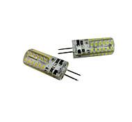 Недорогие -2pcs 2.5W 200-250 lm G4 LED лампы типа Корн T 48 светодиоды SMD 3014 Тёплый белый Холодный белый DC 12V