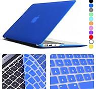 """Недорогие -enkay защитная пленка клавиатуры и матовый чехол для 13,3 """"Macbook Air"""