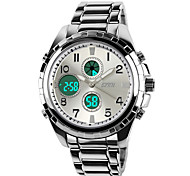 SKMEI® Men's Military Steel Watch Japanese Quartz Analog-Digital Calendar/Chronograph/Water Resistant/Alarm Cool Watch Unique Watch