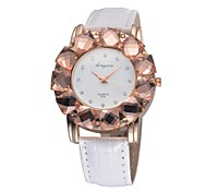 Women's 2015 New Fashion Big Diamond Girl Kids Charm watch Quartz Analog Sparkle