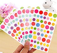cheap -Colorful Funny Dot Sticker Set(6 PCS)
