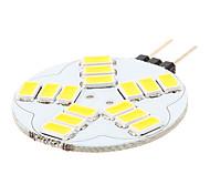 G4 Luci LED Bi-pin 15 SMD 5730 180-320 lm Bianco caldo Bianco K AC 12 V