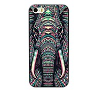cheap -Case For Apple iPhone 8 iPhone 8 Plus iPhone 5 Case iPhone 6 iPhone 6 Plus iPhone 7 Plus iPhone 7 Pattern Back Cover Elephant Hard TPU for