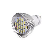 Недорогие -GU10 Точечное LED освещение 16 SMD 5630 650 lm Холодный белый 6000 К Декоративная V