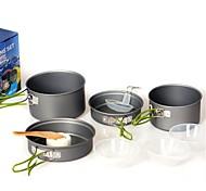Недорогие -Набор походной посуды Походная кастрюля Походная сковорода Наборы для На открытом воздухе