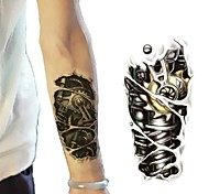 Tatuaggi adesivi - Altro Bambino/Da donna/Da uomo/Adulto/Teen - 1 - Modello - di Carta - Every small size:12*19cm (4.7*7.5inch) - Multicolore/Bronzo -