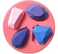 драгоценный камень алмаз коллекция помады формы торта мыло формы шоколада для кухни выпечки