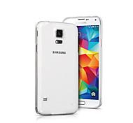 Прозрачная крышка силиконовый назад для Samsung s5 i9600