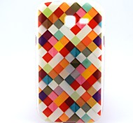 Для Кейс для  Samsung Galaxy С узором Кейс для Задняя крышка Кейс для Геометрический рисунок TPU Samsung Trend Lite