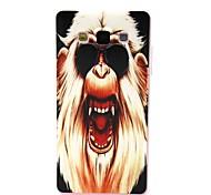 Coco Fun® gafas de sol modelo orangután del tpu suave imd cubierta trasera del caso para samsung galaxy a5 / A5000