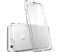 For iPhone X iPhone 8 iPhone 8 Plus iPhone 6 iPhone 6 Plus Case Cover Ultra-thin Transparent Back Cover Case Solid Color Soft Silicone for
