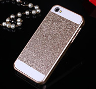 cheap -Solid Bling Glitter Back Cover Case for iPhone 4/4S(Assorted Colors)