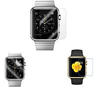 2 шт 42мм алмаз сияющий экран протектор с анти-пузырь& анти-отпечатков пальцев для Apple Наблюдать (0,3 мм)