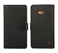 Für Nokia Hülle Geldbeutel / Kreditkartenfächer / mit Halterung Hülle Handyhülle für das ganze Handy Hülle Einheitliche Farbe HartPU -