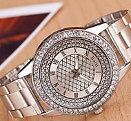 cheap -yoonheel Women's Quartz Wrist Watch Casual Watch Metal Band Charm Fashion Silver Gold