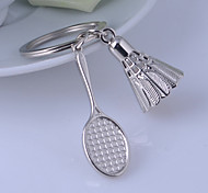 Unisex Alloy Casual Keychain Badminton Key Chains