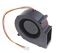 Bfb1012H 12V 1.2A Three-Wire Speed Blower Cooling Fan 9Cm - Black