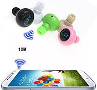 беспроводная гарнитура спорта анти-излучения мини-стерео Bluetooth в ухе наушник для iphone 6 / 6plus s6 (ассорти цветов)