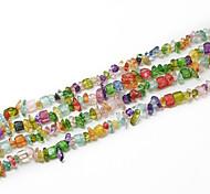 """beadia ассорти цвет кристально каменные бусы 5-8mm неправильной формы DIY свободные шарики для изготовления колье браслет 34 """"/ ул"""