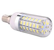Недорогие -ywxlight® e14 привело кукурузные огни 60 smd 5730 1200 lm теплый белый холодный белый ac 220-240 ac 110-130 v