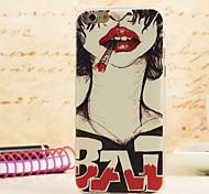 preiswerte -Magie spider®punk Mädchen farbige Malerei ultradünne tpu protetive zurück Fall mit Screen Protector für iphone5 / 5s