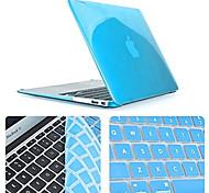 высокое качество тонкий кристалл случае полное тело с клавиатуры крышки для MacBook Pro 13.3-дюймовый (ассорти цветов)