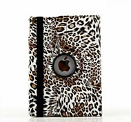 cheap -Case For iPad Air 2 with Stand Origami 360° Rotation Full Body Cases Leopard Print PU Leather for iPad Air 2