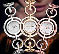 cheap -ASJ Women's Fashion Watch Dress Watch Japanese Quartz Stainless Steel Alloy Band Elegant Bangle Silver Gold Rose Gold