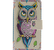 Parrot Open PU Wallet Full Body Case with Screen Protector for Nokia Lumia N630