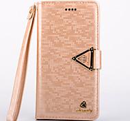 s6 случай роскошные бриллианты пу кожа полный корпус кейс с подставкой и слот для карт памяти для Samsung Galaxy S6