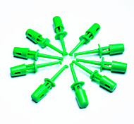 DIY Electronic Test Probe Tip - Green (10-Piece Pack)