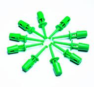 Недорогие -DIY наконечник электронного щуп - зеленый (10 шт Pack)