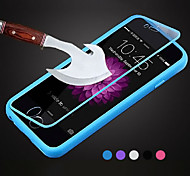 BIG D Touch View TPU & Silicone Flip Cover for iPhone 5/5S/5SE/6/6S