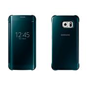 Недорогие -Кейс для Назначение SSamsung Galaxy Кейс для  Samsung Galaxy с окошком С функцией автовывода из режима сна Зеркальная поверхность Флип