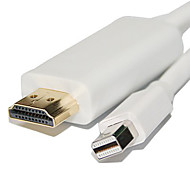 6 футов 1,8 Mini DisplayPort для HDMI кабель адаптера