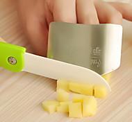 Недорогие -палец из нержавеющей стали охранник кухня рука защитника 6.5x4.5x2cm